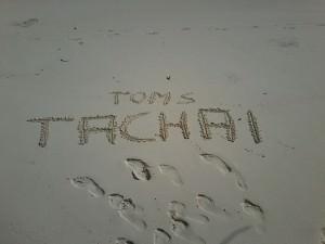 Tachai - Spuren im Sand