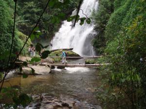 Isaan - Hangwasserfall