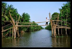 Isaan - Monkey bridge